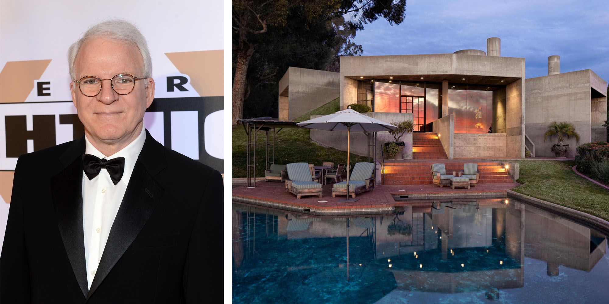 Steve Martin Is Selling His Santa Barbara Mansion