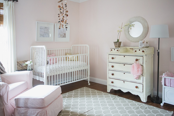 7 cute baby girl rooms nursery decorating ideas for baby for Baby girl room decoration ideas