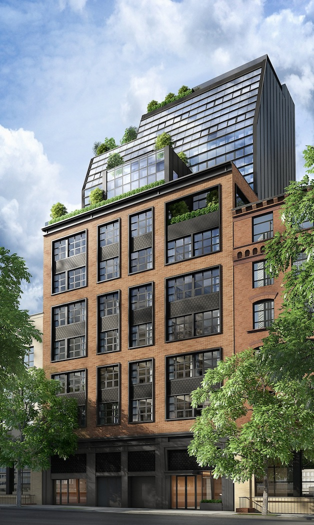 This stunning new york apartment building used to be a for Building a garage apartment