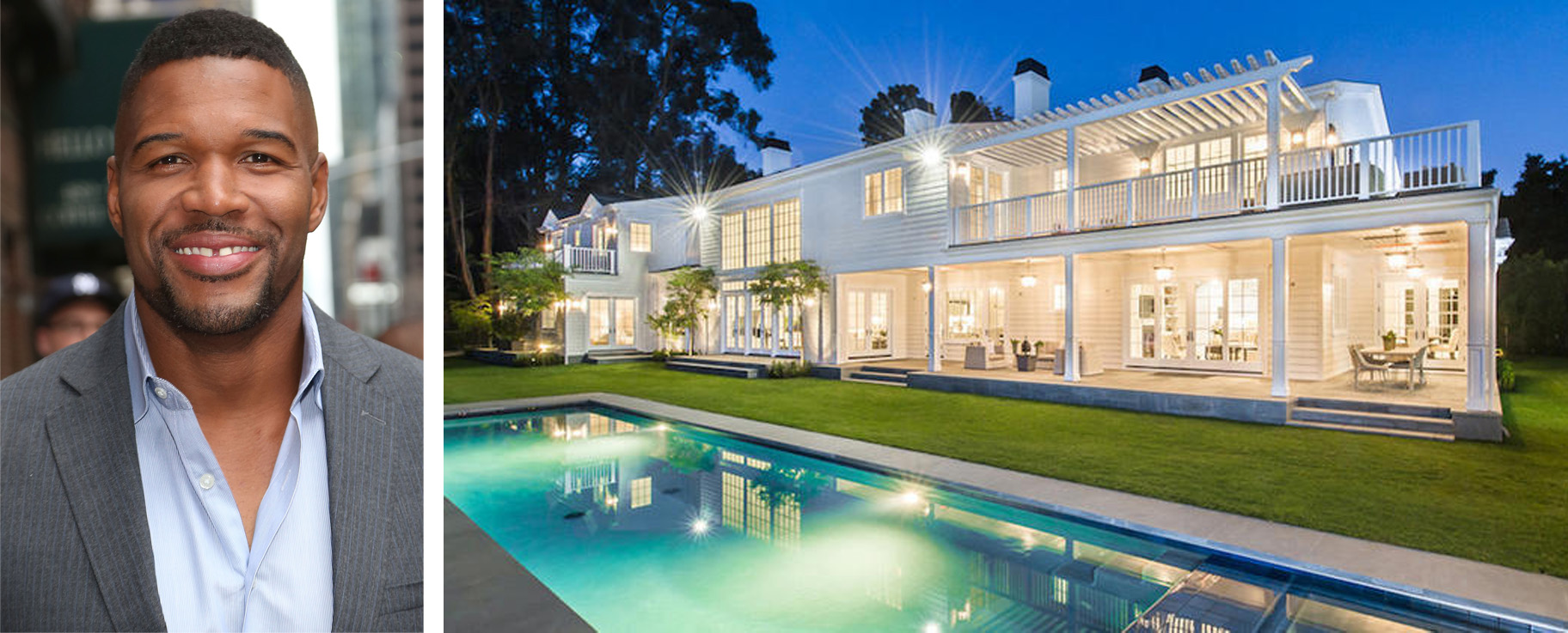 Michael Strahan Just Sold His Brentwood Mansion For 21 5