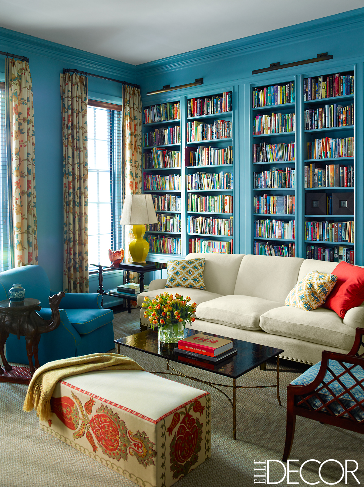 Colorful Manhattan Townhouse