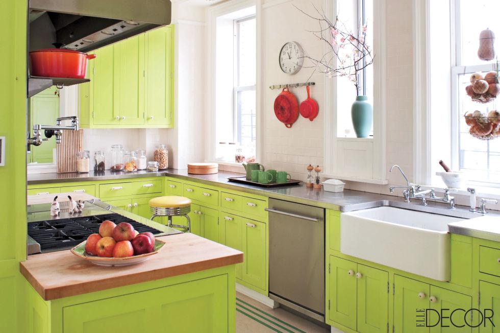 Http Www Elledecor Com Design Decorate Room Ideas G2492 Bold Kitchens Slide 10