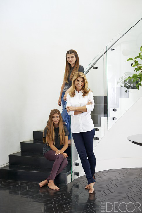 Lori Loughlin elle decor
