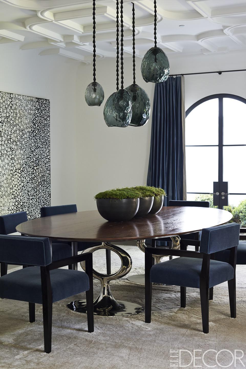 25 Modern Dining Room Decorating Ideas - Contemporary Dining Room ...