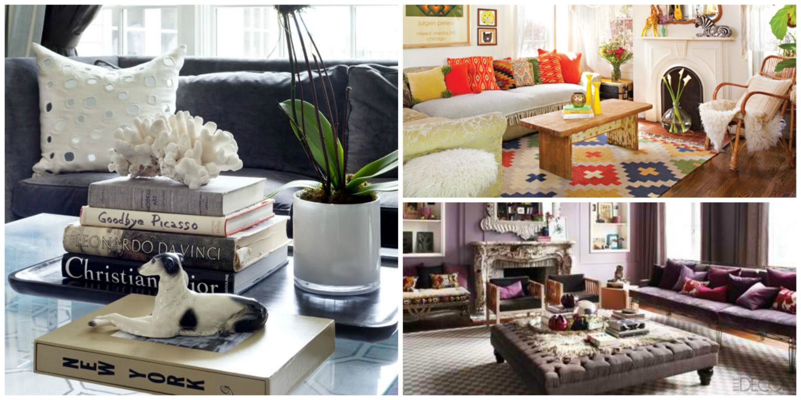 19 coffee table styling ideas to steal Coffee table accessories