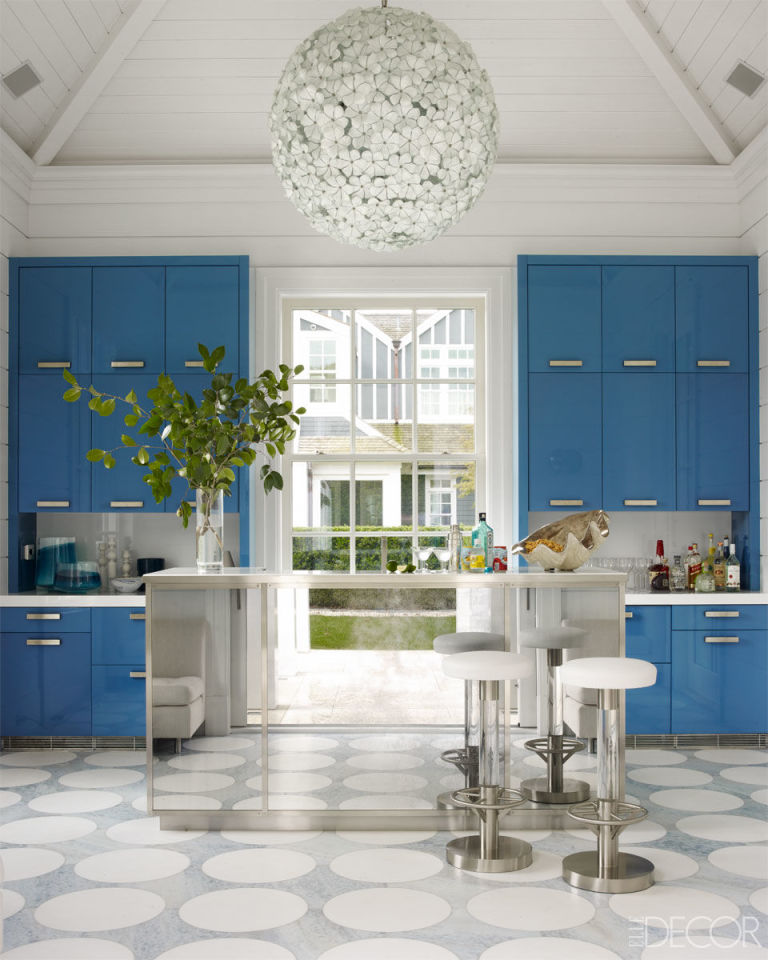 ... Elle Decor Kitchens