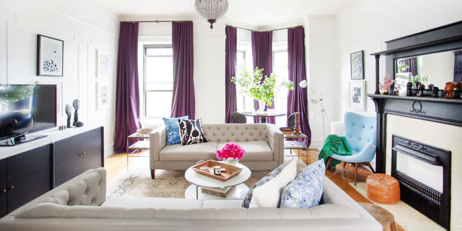 House Tour A Pair Of Philly Transplants Make A Cozy Home