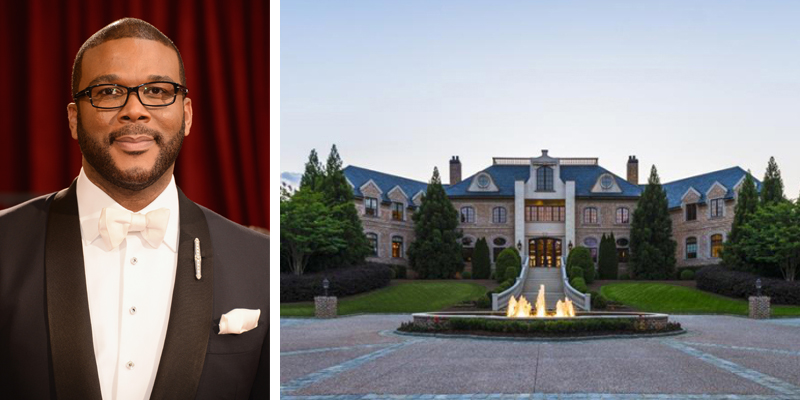 Tyler Perry Is Selling His Stunning Atlanta Mansion