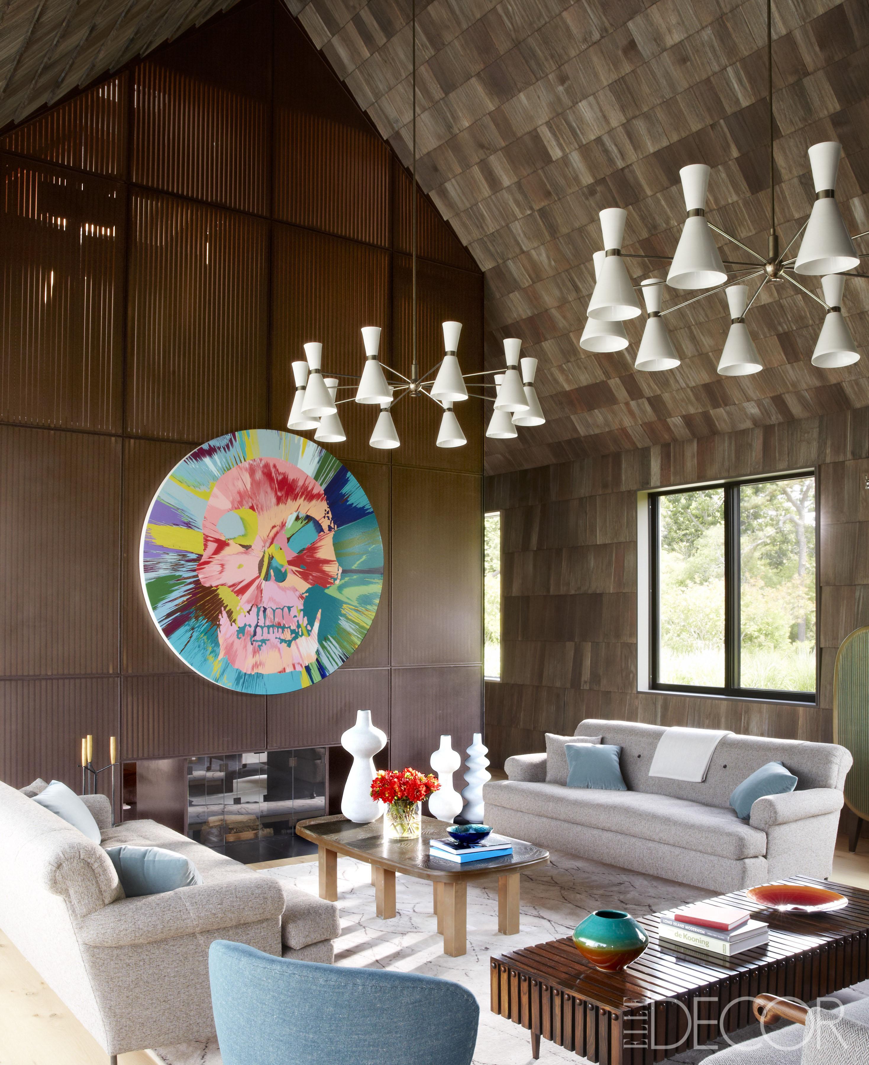 Trend Shake 40 Indigo Home Décor Ideas: HOUSE TOUR: Contemporary Decor Blends With Farmhouse