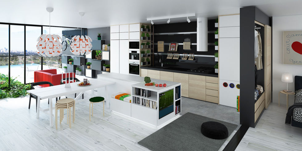 Here's what your home will look like in 2025, according to ikea