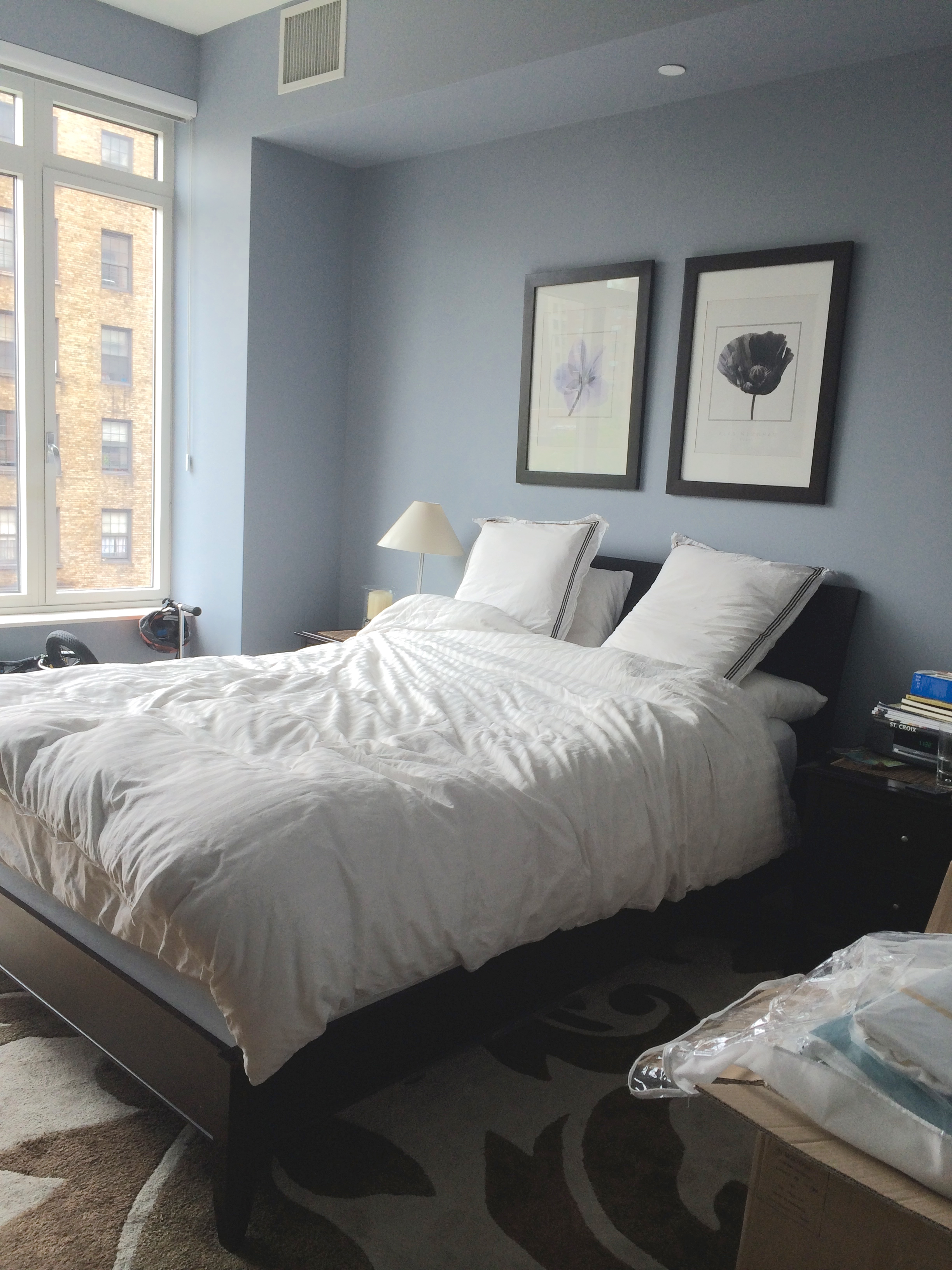 Before Amp After A Couple S Nyc Starter Apartment Gets A