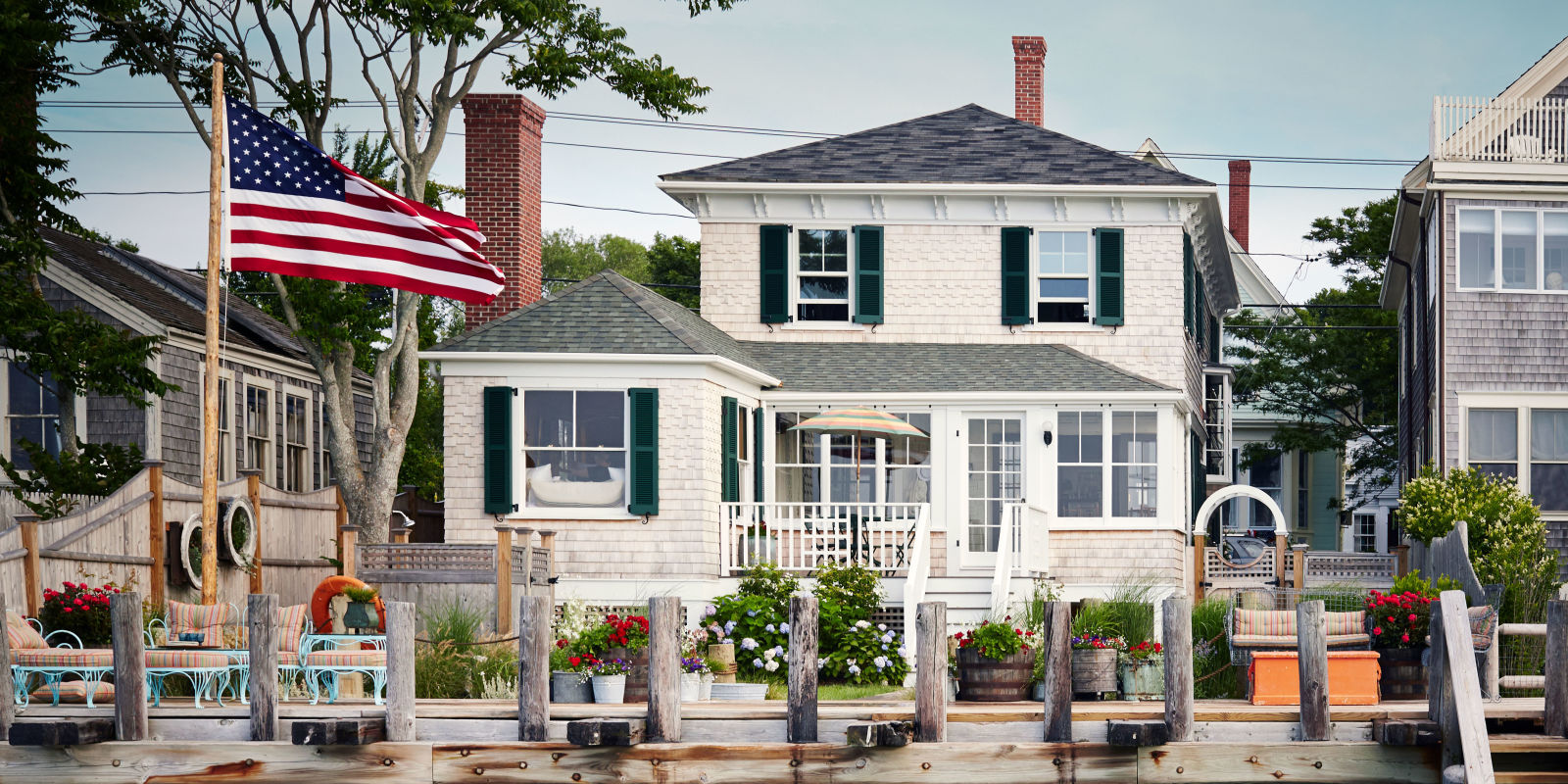 House tour a cape cod cottage is lovingly restored with for Cape cod bungalow