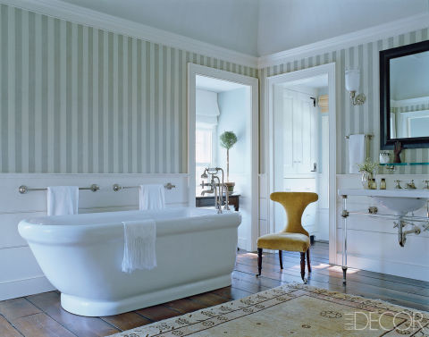 15 bathroom wallpaper ideas wall coverings for bathrooms for Bathroom wallpaper wall coverings