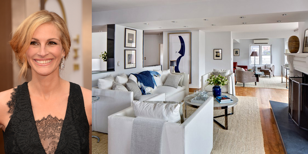 Julia roberts is selling her manhattan penthouse for 4 5 for Apartments for sale in greenwich village nyc