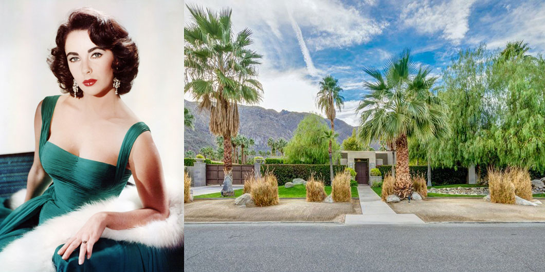 Spend The Night In Elizabeth Taylor S Palm Spring Home
