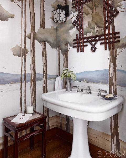 15 Bathroom Wallpaper Ideas Wall Coverings For Bathrooms
