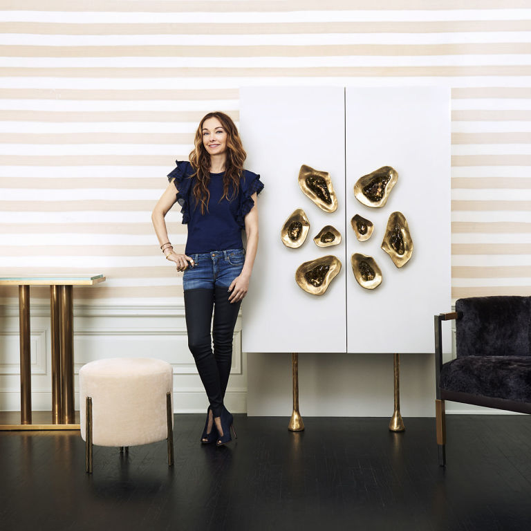 Kelly Wearstler S New Collection Brings Modern Comfort To: Kelly Wearstler's New Line Is A Gold Lover's Dream Come True