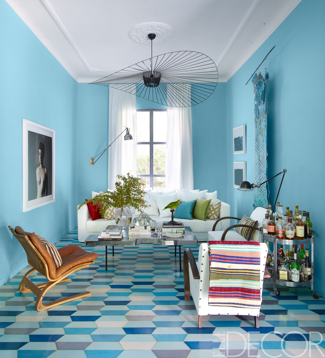 Small High Impact Decor Ideas: HOUSE TOUR: A 1950s Home In Morocco Mixes Pattern To