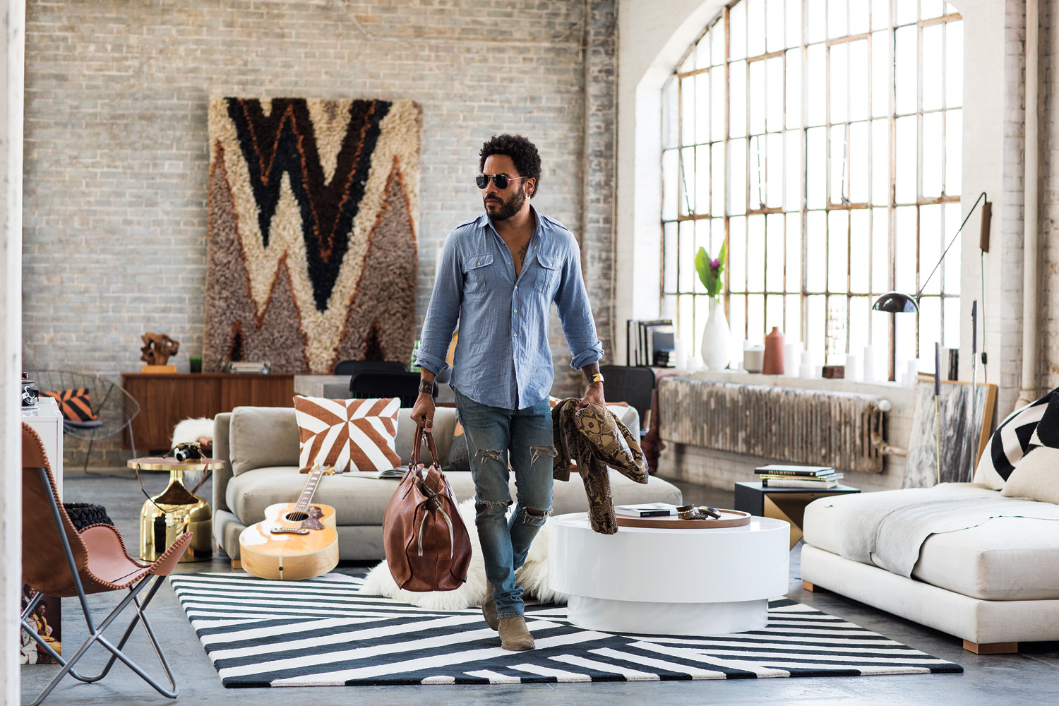 Lenny Kravitz Launches A Rockin New Line Of Furniture