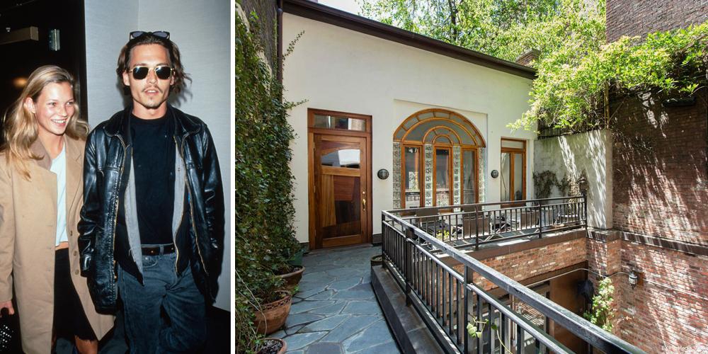 Kate Moss Home Johnny Depp Home