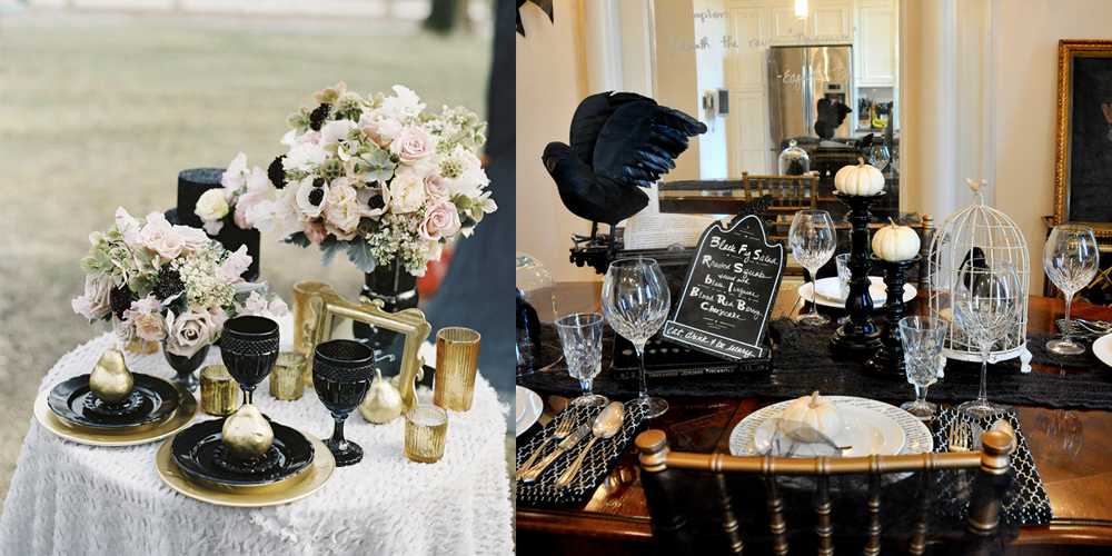 25 best halloween party decorations chic halloween decor ideas - Halloween decoraties ...
