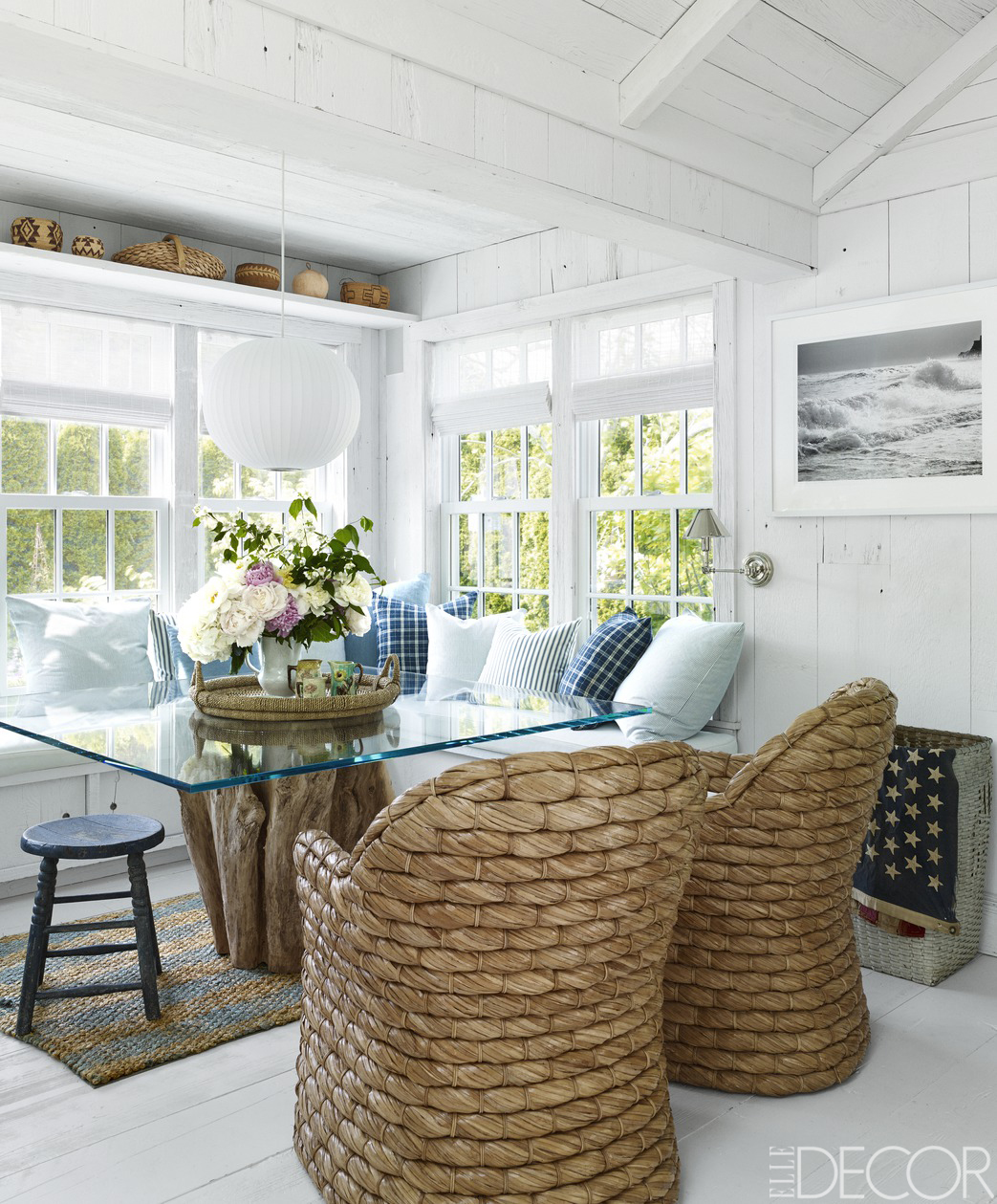 Beach House Decorating Ideas: HOUSE TOUR: From The Mountains To The Beach, A Fashion