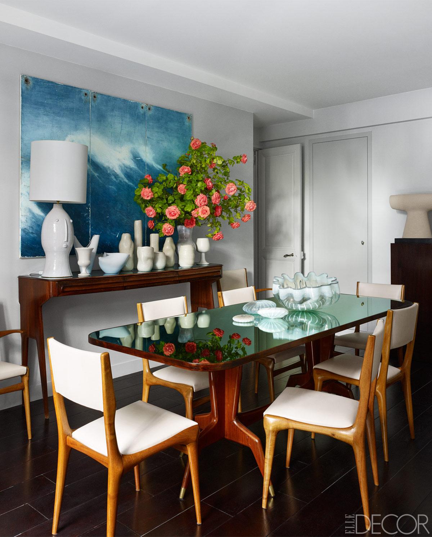 Trend Shake 40 Indigo Home Décor Ideas: Step Inside Fashion Star Andrew Gn's Modern Parisian Oasis
