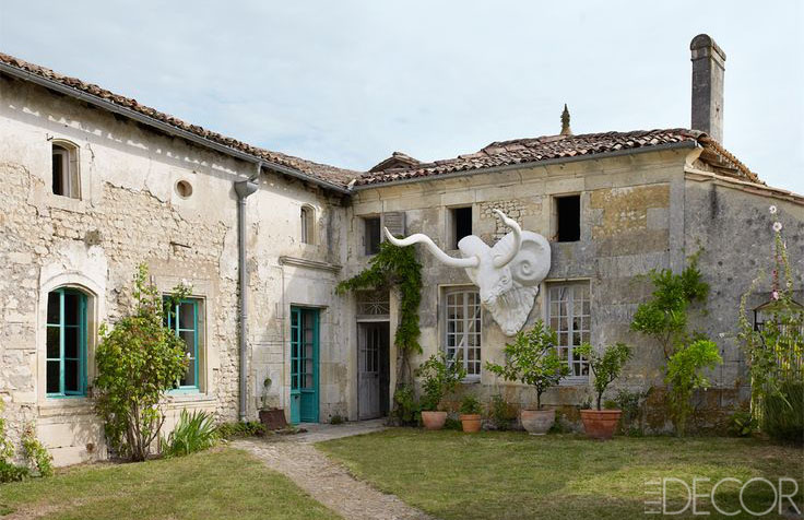 Mathilde labrouche home in southwestern france 18th for French farmhouse house plans