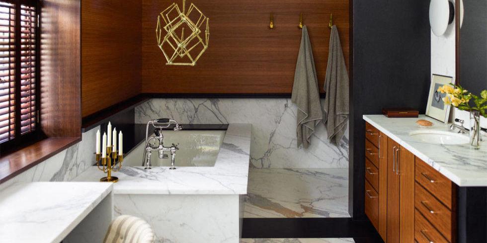 20 Luxurious Bathroom Makeovers From Our Stars: 20 Best Modern Bathroom Ideas