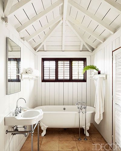 Guest Bathroom Ideas With Pleasant Atmosphere: Christian Liaigre's St. Barts Home