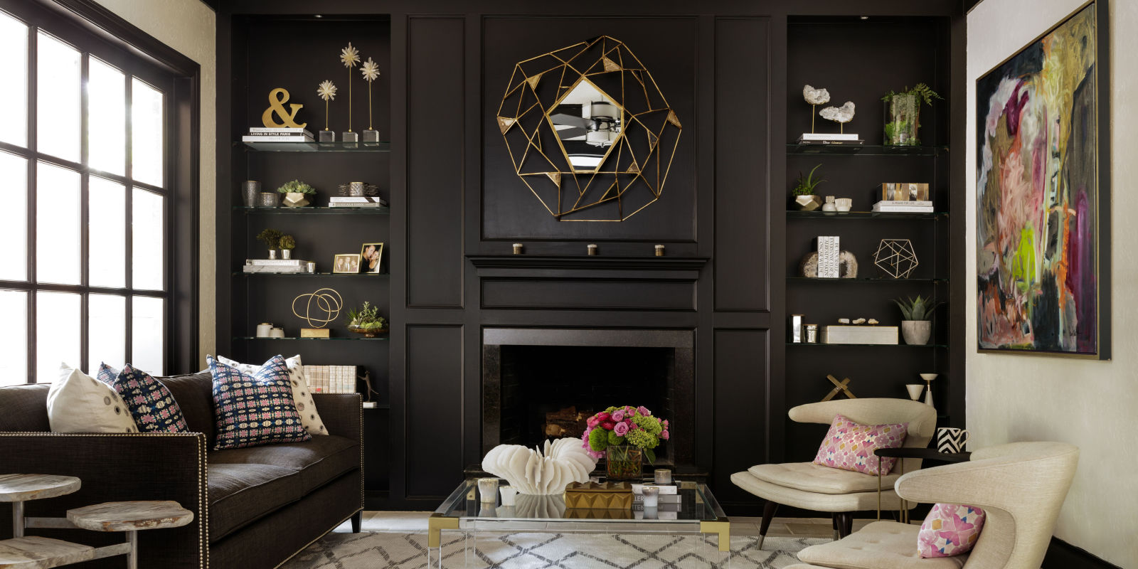 Bookcase decoration ideas how to style a bookcase - What did the wall say to the bookcase ...
