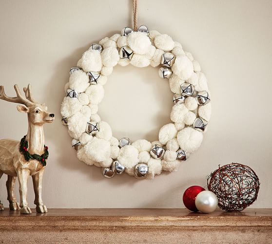 Holiday Decor Gift Ideas Pottery Barn Edition All My: 40+ Beautiful Christmas Wreaths