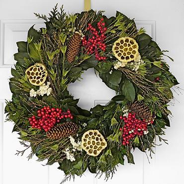 40 Beautiful Christmas Wreaths Stylish Holiday Wreaths