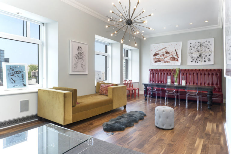 Celebrity Homes: Britney Spears' Penthouse Britney Spears' Penthouse Celebrity Homes: Britney Spears' Penthouse gallery 1452108077 14 east 4th street 1109 living room2