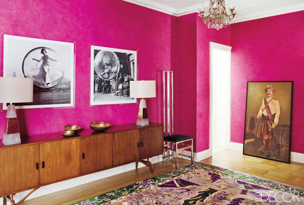 20 wall decor ideas decorating large walls for Bedroom ideas elle decor