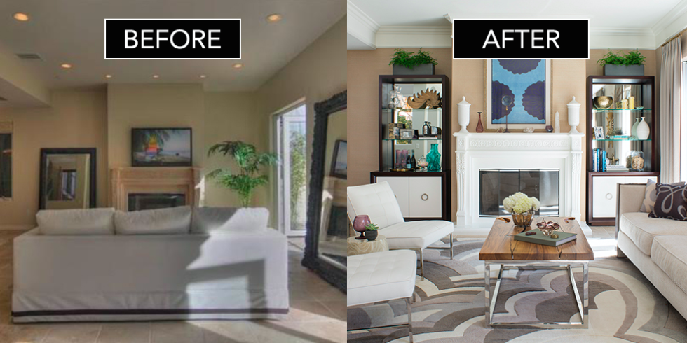 home interior makeovers before after | photo home design