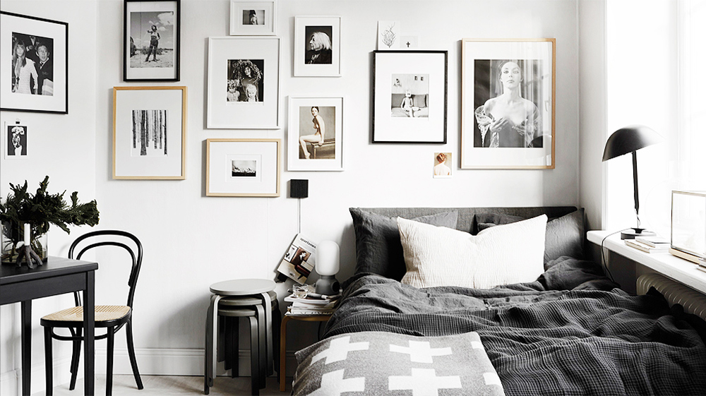 30 best black and white decor ideas black and white design Bedrooms decorated in black and white