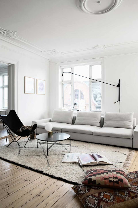 Tour the rest of the home here. From: Coco Lapine Design