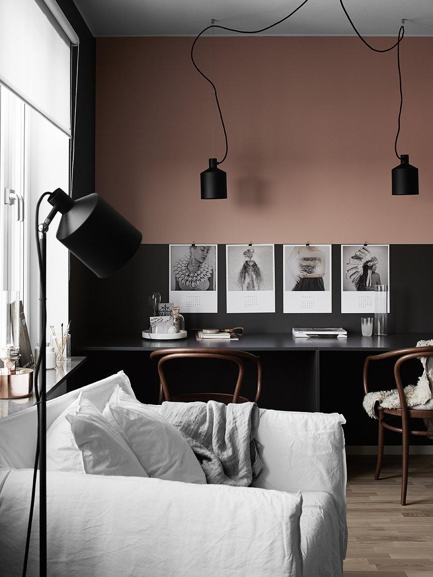 Pink rooms rose quartz interiors for Decoration maison 100m2