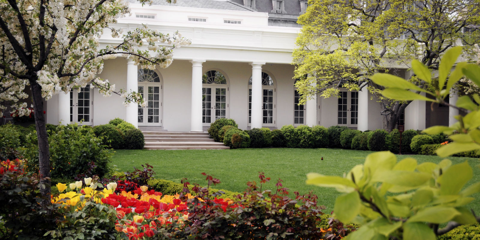 All the presidents 39 gardens interesting facts about the for Fun facts white house