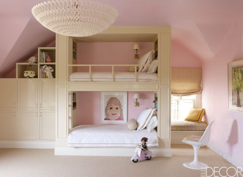 10 girls bedroom decorating ideas creative girls room decor tips - Double deck bed designs for small spaces pict ...