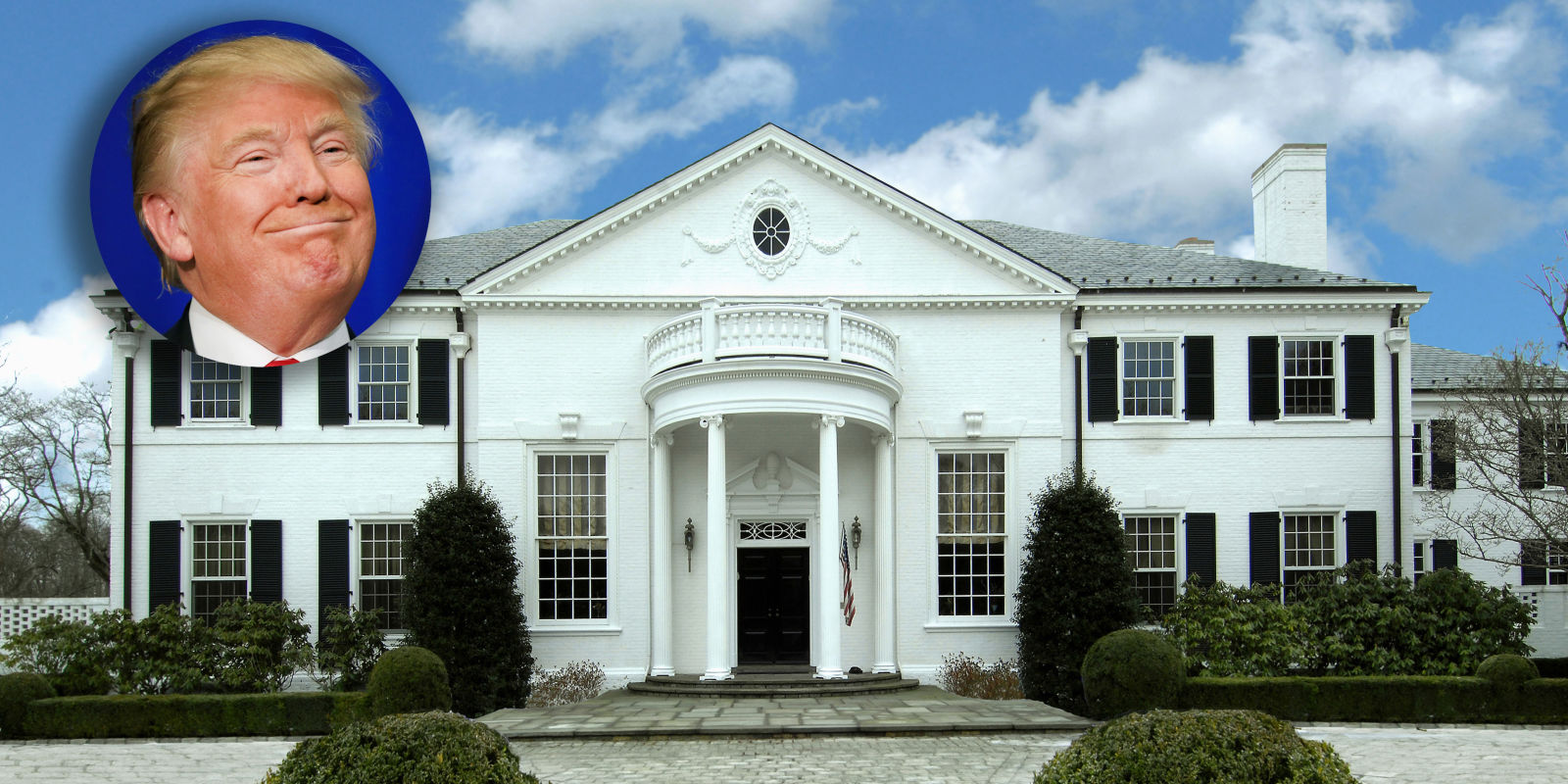 Donald Trumps First Mansion Is For Sale Celebrity Houses