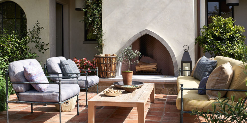 Outdoor Fireplace Design Ideas backyard stone fireplace design idea massive and multy levels 10 Outdoor Fireplace Design Ideas Best Backyard Fire Pits