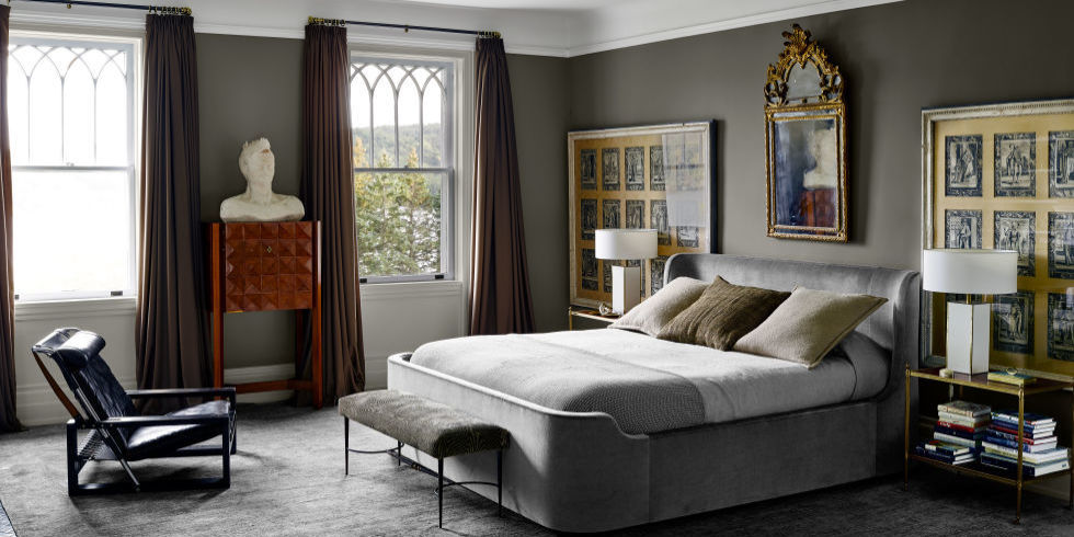15 Grey Bedrooms With Stylish Design Gray Bedroom Ideas