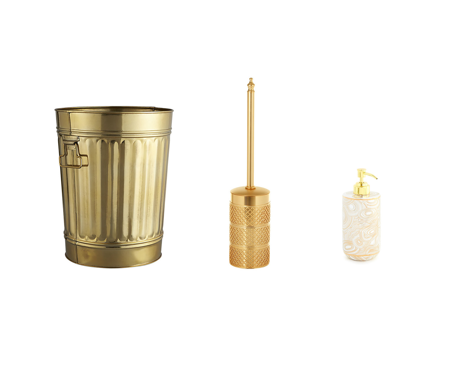 20 gold bathroom accessories gold colored bath decor ideas With gold coloured bathroom fittings