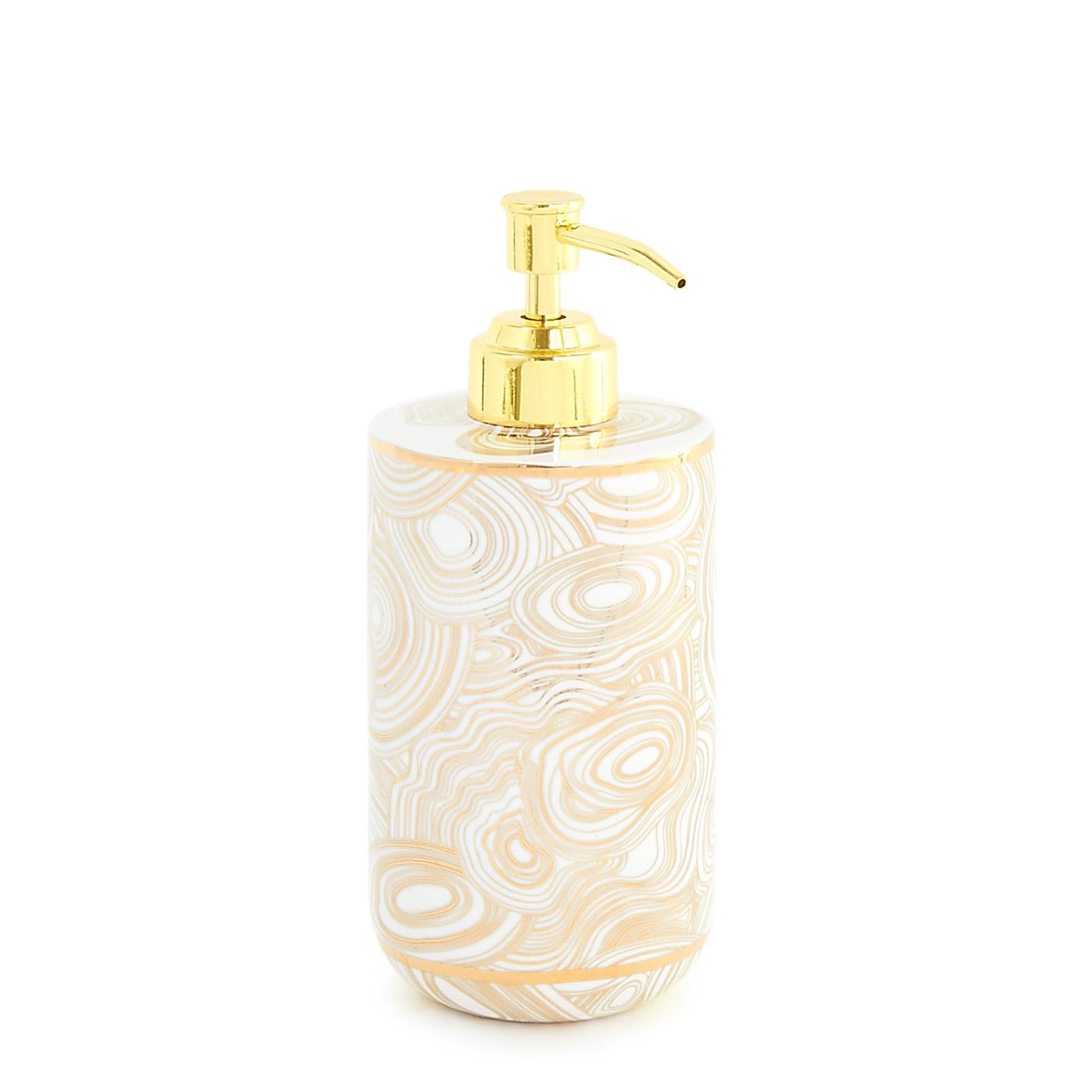 Gold Colored Bath Decor Ideas