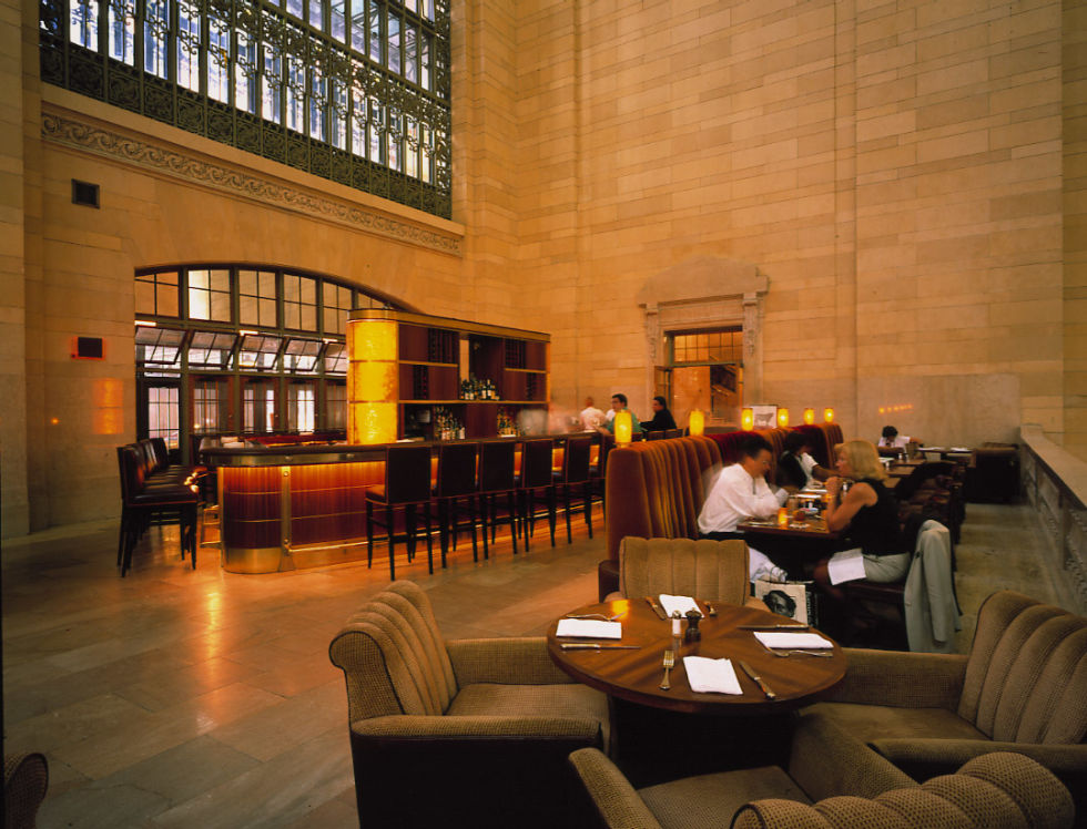 Like Arnold Palmer, Michael Jordan is a name worthy of its own restaurant. This New York establishment does a traditional steakhouse menu with five cuts of steak to choose from and an array of classic sides. The coolest thing about this steakhouse is that it's located on a balcony inside Grand Central Station. While you're devouring your steak you can glance down at the hustle and bustle of the station or look up and around to the beautiful architecture.  Visit the Michael Jordan's Steakhouse website here.