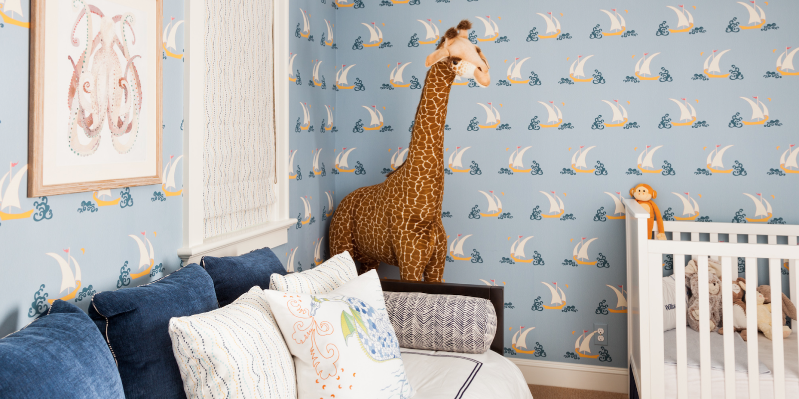 7 baby boy room ideas cute boy nursery decorating ideas for Elle decor nursery