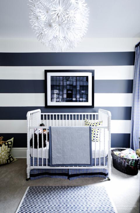7 baby boy room ideas cute boy nursery decorating ideas - Baby blue living room decor ...