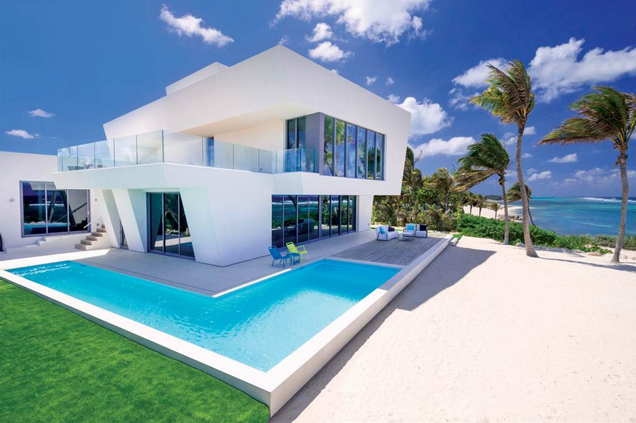Camden House is an ultra-contemporary beach house located on the North side of Grand Cayman, resting on a large, elevated sand ridge at Rum Point with over 100 ft. of prime beachfront on one of Cayman's most spectacular shorelines. Learn more and see inside this property.